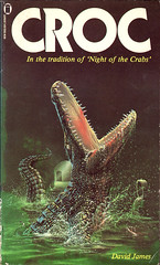 Croc by David James (Reverb 1971) Tags: book paperback crocodile horror nasty nel newenglishlibrary davidjames