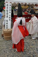 Mifune Matsuri (Christian Kaden) Tags: festival japan kyoto kultur culture clothes arashiyama 京都 日本 kimono 嵐山 fest kioto kansai 着物 関西 kleidung 文化 服 祭 衣 mifunematsuri 衣類 三船祭 ころも