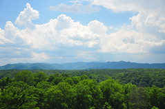 Blue Ridge Mountains from Biltmore (BlakeLewisPhotography) Tags: travel flowers blue vacation sky storm mountains green love beautiful beauty animals clouds landscape photography amazing backyard nikon pretty power bees bugs ridge incredible biltmoreestate d90 appalachain biltomore groqwing