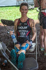 KT Tape Pro all wet at a Triathlon (Recover Faster, Play Harder) Tags: blue wet female race pain support injury run tape pro triathlon synthetic kt waterproof sore kinesiology worldchampionships fullbody shelbycounty stabilize kttape 2012itucrosstriathlon xterrasoutheastchampionships