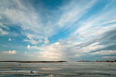 DSC_4643s (savillent) Tags: blue sky sun canada ice clouds landscape spring nikon harbour nt may nwt northwestterritories saville 2012 dazzling tuktoyaktuk d300s
