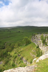 From atop Malham Cove 'Look North' (SueT1912) Tags: landscape scenic malham yorkshiredales malhamcove looknorth