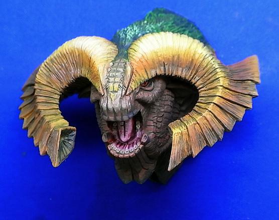 CAPCOM - 魔物獵人頭部標本磁鐵