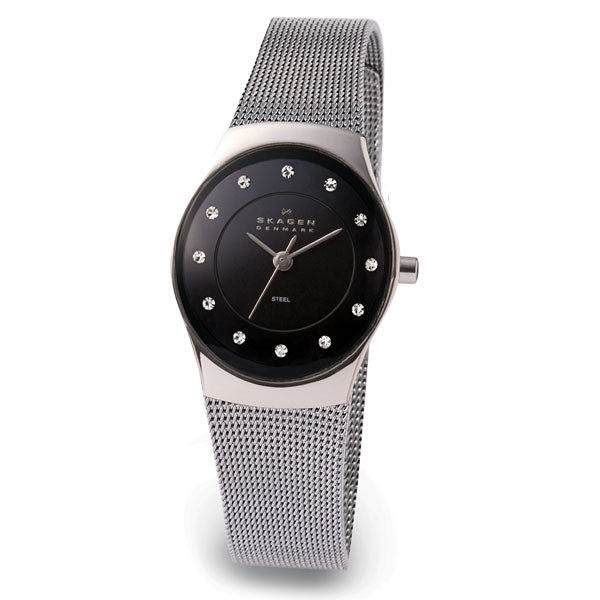 Skagen诗格恩693XSSSB不锈钢网带女士手表