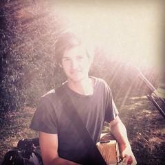 Elijah Jones at simple church picnic