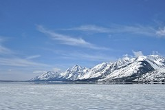 Ice over Jackson Lake, Grand Tetons NP (Mike Miller Photos) Tags: landscape nationalpark grandtetons grandtetonsnationalpark