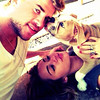 .Liam Hemsworth posted this image of himself and Miley Cyrus on Instagram with the caption 'Life is amazing.' credit: Liam Hemsworth/Instagram 22.06.12 Supplied by WENN.com (WENN does not claim any Copyright or License in the attached material