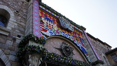 _DSC8500 (haphopper) Tags: flowers art easter word logo spring disney font themepark tokyodisneysea 2012 tds tdr  disneybear medharbor mickeyduffysspringvoyage tdsentrance