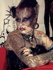 Mujer Vampiro (Jhon Bolivar) Tags: woman tattoo vampire gothic vampiro vampira gotica vampirewoman expotattoo mujervampiro maryjosecristerna