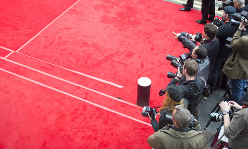 Photographers at the European Premiere of Brave at the Festival Theatre, Edinburgh