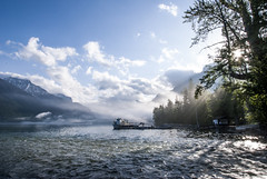 Morning Fog Lake McDonald-Glacier National Park (rt4babies) Tags: