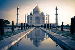 Taj Mahal (touches sun) (peterwilli88) Tags: india tajmahal highlights rajastan