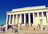 Doric Temple (SOMETHiNG MONUMENTAL) Tags: travel summer architecture canon columns nationalmall lincolnmemorial g11 greektemple washigntondc doricorder somethingmonumental mandycrandell