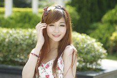 _DSC8343 (rickytanghkg) Tags: portrait woman girl beautiful beauty lady female garden asian hongkong model pretty sweet outdoor chinese young belle