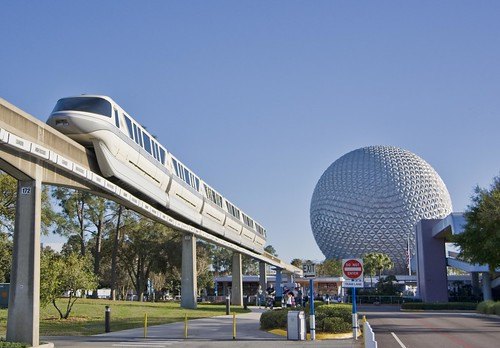 Arriving In Epcot