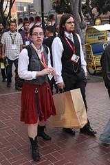 240 (Maxymus Images - Gary Hepburn) Tags: street girls sexy lamp costume san comic diego scene gas gaslamp con 2011