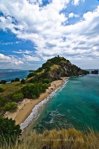 Beautiful Tiga Island .