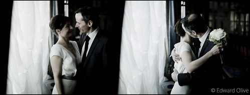 Les mari�s - Edward Olive photographe de mariage Madrid Barcelone Espagne