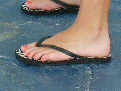 (Tellerite) Tags: feet toes sandals flipflops barefeet pedicure beautifulfeet prettytoes sexytoes sweetfeet prettyfeet sexyfeet girlsfeet femalefeet teenfeet femaletoes candidfeet beautifultoes baretoes girlstoes orangetoenailpolish sweettoes girlsbarefeet teentoes girlsbarefoot youngfemalefeet candidtoes youngfemaletoes toenailpolsih