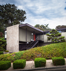 Modernist House (Chimay Bleue) Tags: ocean california ranch house beach home architecture modern design san post style diego beam southern architect international atomic modernist midcentury postwar mcm