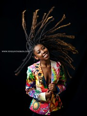 The dreads are locked (Pixelinthebox) Tags: portrait black colors smile dreadlocks female studio flying model nikon modeling mauritius d800 blackmodel nikond800 pixelinthebox lionnetfauzou