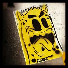RUPERT (billy craven) Tags: streetart chicago graffiti stencil sticker rupert slaptag uploaded:by=instagram