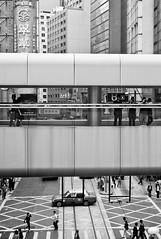 ruler (Nadia Zaboura) Tags: street leica blackandwhite bw skyline 35mm hongkong summicron m8 f20 leicam8