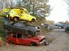 Autodemontage Nunspeet 2011 (Fuego 81) Tags: ford fiesta jeep cherokee junkyard wreck scrap peugeot 205 nunspeet wrak epave schroot sloperij autosloop autodemontage abwrack henkvanolst