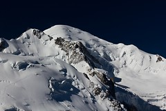 Mont Maudit (Fabrice JAUME) Tags: sun mountain snow ice nature weather clouds montagne soleil neige montblanc glace refuge alpinisme meteo avalanche aiguilledumidi randonne galcier forcast atmosphre montmaudit
