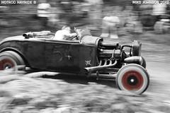 Model B Roadster on the hill climb (zombikombi1959) Tags: uk england motion blur ford speed whitewalls hotrod custom panning v8 detonators hillclimb roadster bisley modelb hotrodhayride8