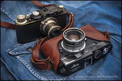 BLACK IN BLACK ;) (FRISCO-29) Tags: leica leitz leicam6millenium millenium wnikkorc35cmf18ltm nikon nikkor nikond700 elmar5035 couplex leicacouplex cameraporn camera d700