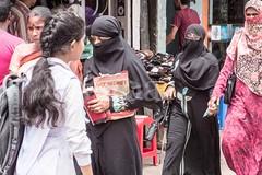 H504_3513 (bandashing) Tags: hindu muslim schoolgirls hijab burkah niqab headscarf covered black holdhands books street sylhet manchester england bangladesh bandashing socialdocumentary aoa akhtarowaisahmed