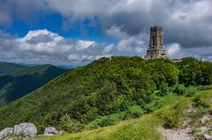 Shipka Monument (BlaizeG) Tags: monument summer outdoor bulgaria sky mountain shipka starazagora bg