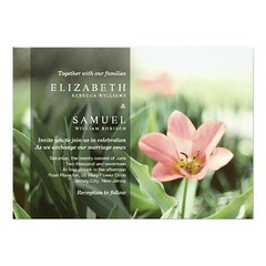 (Elegant Modern Spring Flower Wedding Invitation) #Beautiful, #Elegant, #Floral, #Grass, #Green, #Modern, #Nature, #Original, #Pink, #Pretty, #Professional, #Romantic, #Spring, #Stylish, #Tulip, #Wedding is available on Custom Unique Wedding Invitations s (CustomWeddingInvitations) Tags: elegant modern spring flower wedding invitation beautiful floral grass green nature original pink pretty professional romantic stylish tulip is available custom unique invitations store httpcustomweddinginvitationsringscakegownsanniversaryreceptionflowersgiftdressesshoesclothingaccessoriesinvitationsbinauralbeatsbrainwaveentrainmentcomelegantmodernspringflowerweddinginvitation weddinginvitation weddinginvitations