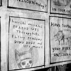Post Alley (starheadboy) Tags: burritounicorn postalley seattle streetart