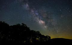 BRP Night (Michael Kline) Tags: 2016 blueridgeparkway july virginia night sky stars