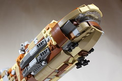 "GAWS-3 ""Nebula Prime"" 3 (LegoLord82) Tags: lego micro space spacestation future star trek wars aliens outer futuristic"