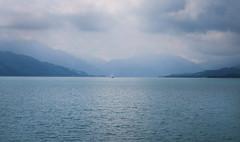 Attersee (Bilder von unterwegs) Tags: austria eu europe ship sailboat sailing sailingboat clouds cloudscape cloudy cloudburst sea water mountains mountain