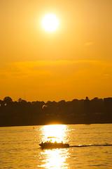 Peaceland (impalamane841) Tags: landscape landscapes evansville indiana sunset skyporn reflection warmcolors sonya6000 silhouette
