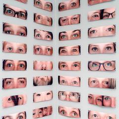 We're looking at you! (uneitzel) Tags: artmuseum auge eye hamburg kunsthalle mzuiko17mm museum olympusem5 square