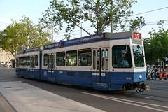 Tram 2000 2053 (V-Foto-Zrich) Tags: tram vbz zrilinie verkehrsbetriebe zrich tram2000
