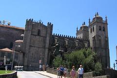 Oporto-35 (e_velo ()) Tags: 2016 oporto portugal verano summer estiu travels viajes viatges canon powershota520 catedrals catedrales cathedrals romnico romnic romasque