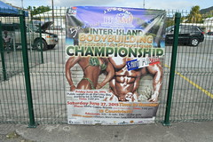 Inter-Island Bodybuilding Fitness & Physique Championship banner in Collectivit de Saint-Martin France French side of the island of Saint Martin (RYANISLAND) Tags: france french saintmartin stmartin saint st collectivity martin collectivityofsaintmartin collectivit collectivitdesaintmartin marigot frenchcaribbean frenchwestindies thecaribbean caribbean caribbeanisland caribbeanislands island islands leewardislands leewardisland westindies indies lesserantilles antilles caribbees
