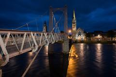 Greig Street Bridge - Inverness (bervaz) Tags: inverness escocia scotland sony a7rm2 1635mm 1635 highlands ness river rio largaexposicin longexposure carlzeiss variotessartfe1635mmf4zaoss variotessart nocturna noche arquitectura