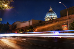 Rome, behind the Vatican