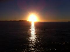 Sunset at Brittany (Bretagne) France (PictureJohn64) Tags: celtic untergang sonne coast kust water iphone picturejohn landscape landschap natuur nature zon sun sunset zonsondergang frankrijk france bretagne brittany sea zee keltische