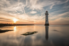 The Reflects (Paul-Farrell) Tags: reflections lighthouse newbrighton sunset rivermersey wirral merseyside longexposure ndfilter 10stop canon 1740mm 5dmkiii paulfarrell fagsy63