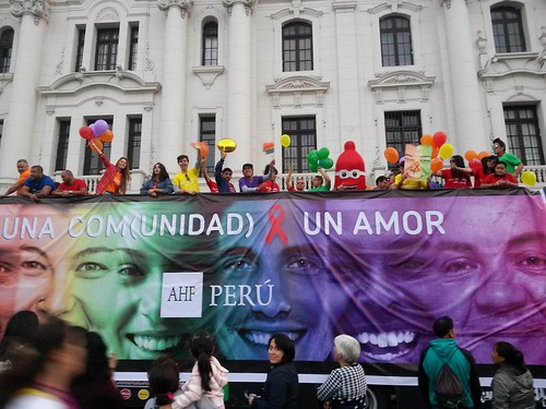 AHF Peru: Lima Pride - July 2nd 2016