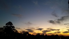 Amazing sunset (crisfin12) Tags: sunset sunrise sun night landscape paisaje atardecer saltouruguay balcony