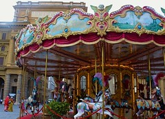 Life is like a carousel (TanyMor) Tags: carousel firenze florence
